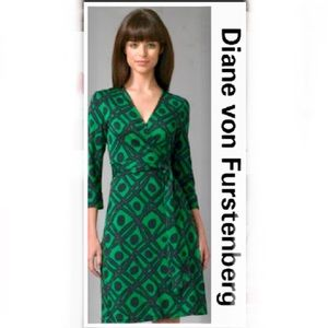 Diane Von Furstenberg Vintage Julian Wrap Dress